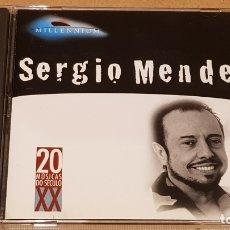 CDs de Música: SERGIO MENDES / MILLENIUM - 20 MUSICAS DO SÉCULO XX / CD - MERCURY-BRASIL / LUJO.. Lote 165108410