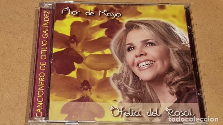 OFELIA DEL ROSAL / FLOR DE MAYO / CANCIONERO DE OTILIO GALÍNDEZ / CD - VENEZUELA / 12 TEMAS / LUJO. (Música - CD's Jazz, Blues, Soul y Gospel)