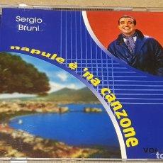 CDs de Música: SERGIO BRUNI / NAPULE É 'NA CANZONE / CD - AZZURRA MUSIC-ITALY / 15 TEMAS / LUJO.. Lote 165112754