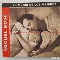 CDs de Música: CD / LO MEJOR DE LOS MEJORES Nº 3 / MIGUEL BOSE / LOS CHICOS NO LLORAN / 2002 / COMO NUEVO. Lote 218503470