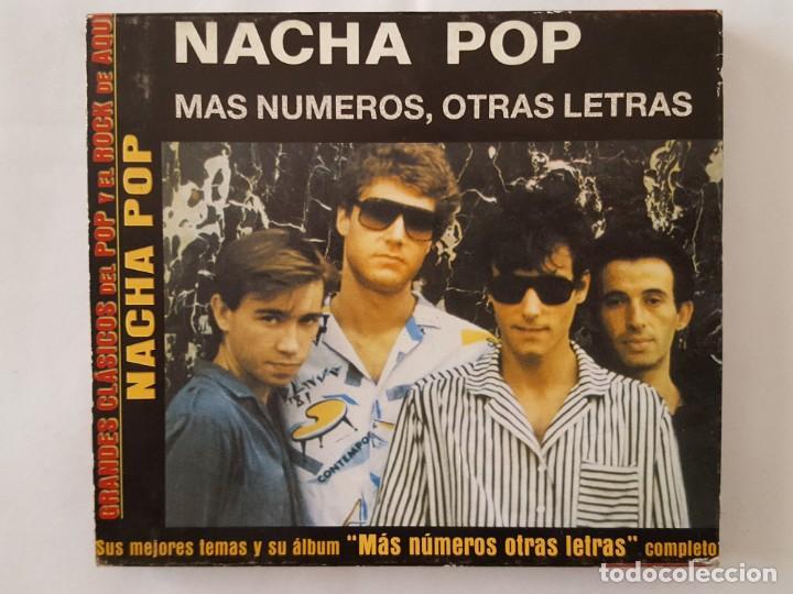 CD / GRANDES CLASICOS DEL POP Y EL ROCK DE AQUÍ Nº 6 / NACHA POP / MAS NUMEROS OTRAS LETRAS / 2002 (Música - CD's Rock)