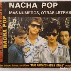 CDs de Música: CD / GRANDES CLASICOS DEL POP Y EL ROCK DE AQUÍ Nº 6 / NACHA POP / MAS NUMEROS OTRAS LETRAS / 2002. Lote 165130214