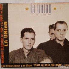 CDs de Música: CD / GRANDES CLASICOS DEL POP Y EL ROCK DE AQUÍ Nº 4 / LA UNION / VIVIR AL ESTE DEL EDEN / 2002. Lote 165130362