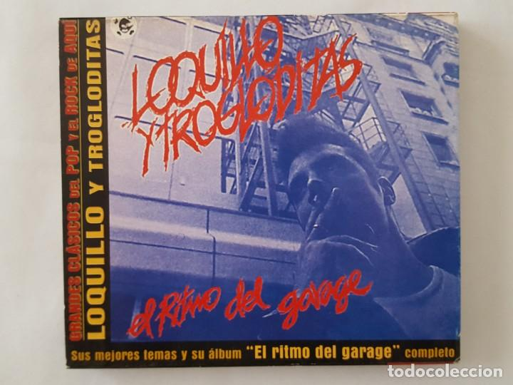 CD / GRANDES CLASICOS DEL POP Y EL ROCK DE AQUÍ Nº 3 / LOQUILLO Y TROGLODITAS / EL RITMO DEL GARAGE (Música - CD's Rock)