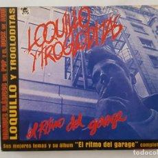 CDs de Música: CD / GRANDES CLASICOS DEL POP Y EL ROCK DE AQUÍ Nº 3 / LOQUILLO Y TROGLODITAS / EL RITMO DEL GARAGE . Lote 165130442