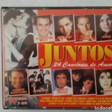 CDs de Música: CD DOBLE / JUNTOS / 24 CANCIONES DE AMOR / DIVUCSA 32-066 / 1995 / COMO NUEVO. Lote 165131926