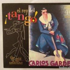 CDs de Música: CD DOBLE / CARLOS GARDEL / EL REY DEL TANGO / THE GOLD COLLECTION / 40 ORIGINAL PERFORMANCES / 1998 . Lote 165132006