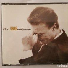 CDs de Música: CD DOBLE / ALFREDO KRAUS / CON EL CORAZON / ZAFIRO 50512650 / 1991 / BUEN ESTADO. Lote 165132038