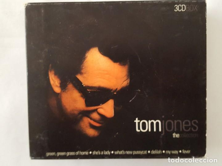 CD TRIPLE / TOM JONES / THE COLLECTION / WETON-WESGRAM KBOX3271 / 2000 / COMO NUEVO (Música - CD's Melódica )
