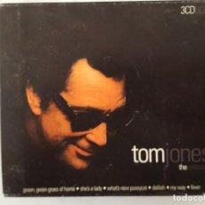 CDs de Música: CD TRIPLE / TOM JONES / THE COLLECTION / WETON-WESGRAM KBOX3271 / 2000 / COMO NUEVO. Lote 165132174
