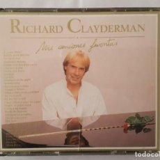 CDs de Música: CD DOBLE / RICHARD CLAYDERMAN / MIS CANCIONES FAVORITAS / DELPHINE 9031-74908-2 / 1991 / COMO NUEVO. Lote 165132230