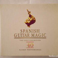 CDs de Música: CD DOBLE / SPANISH GUITAR MAGIC / THE GOLD COLLECTION / 40 CLASSICS PERFORMANCES / 1997 / COMO NUEVO. Lote 165132250
