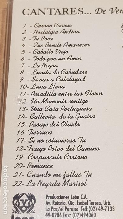 CDs de Música: OLGA TERESA MACHADO / CANTARES DE VENEZUELA Y ALGO MÁS. / CD - LEON / 22 TEMAS / BUENA CALIDAD. - Foto 4 - 165137590