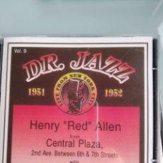 CDs de Música: HENRY RED ALLEN – THE DOCTOR JAZZ SERIES VOLUME 9. Lote 165138522