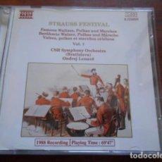 CDs de Música: 2 CD STRAUSS FESTIVAL VOL.2 +STRAUSS FESTIVAL VOL.1. Lote 165152710