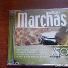 CDs de Música: 2 CD MARCHAS MILITARES VOL.1 Y VOL.2. Lote 165155550