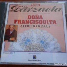CDs de Música: CD ZARZUELA -DOÑA FRANCISQUITA 2 ALFREDO KRAUS. Lote 165157806