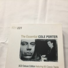 Music CDs - COLE PORTER (The Essential) 3 cds - 165177220