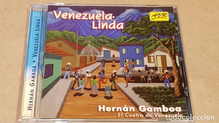 HERNÁN GAMBOA / VENEZUELA LINDA / CD - AVR-VENEZUELA / 20 TEMAS / CALIDAD LUJO. (Música - CD's World Music)