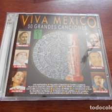 CDs de Música: VIVA MEXICO / 50 GRANDES CANCIONES / PACK - 3 CD+2 CD VIVA MEXICIO,HOT MEXICAN NIGHTTS. Lote 165196926