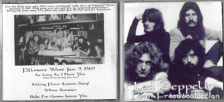 LED ZEPPELIN: SAN FRANCISCO ´69. GRABADO EN DIRECTO EL 9 DE ENERO DE 1969 EN EL FILLMORE WEST (Música - CD's Rock)