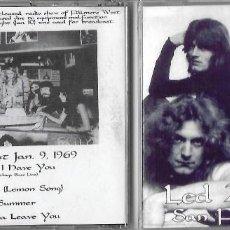 CDs de Música: LED ZEPPELIN: SAN FRANCISCO ´69. GRABADO EN DIRECTO EL 9 DE ENERO DE 1969 EN EL FILLMORE WEST. Lote 165197338