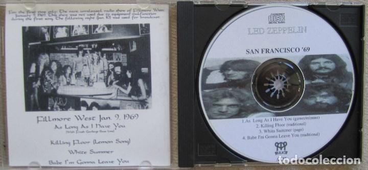 CDs de Música: LED ZEPPELIN: SAN FRANCISCO ´69. GRABADO EN DIRECTO EL 9 DE ENERO DE 1969 EN EL FILLMORE WEST - Foto 2 - 165197338