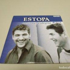CD di Musica: 519- ESTOPA NASIO PA LA ALEGRIA SINGLE CD PROMOCIONAL. Lote 165209202