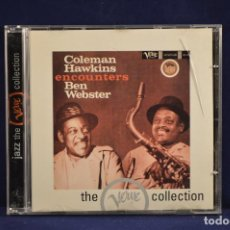 CDs de Música: THE VERVE COLLECTION - COLEMAN HAWKINS/ BEN WEBSTER ‎– COLEMAN HAWKINS ENCOUNTERS BEN WEBSTER - CD. Lote 165212054