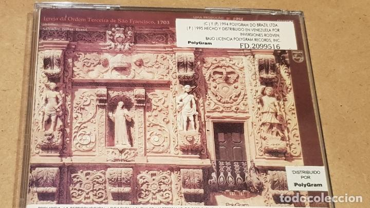 CDs de Música: CAETANO VELOSO / FINA ESTAMPA / CD - POLYGRAM-BRASIL-1994 / 15 TEMAS / LUJO. - Foto 3 - 165221238