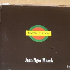 CDs de Música: JEAN NGOR MAACK / REVIVAL STATION / CD - FAPMAN RECORDS-11 TEMAS / CALIDAD LUJO.. Lote 165222070