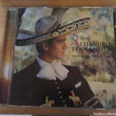 CDs de Música: ALEJANDRO FERNÁNDEZ - QUE SEAS MUY FELIZ. Lote 165222581