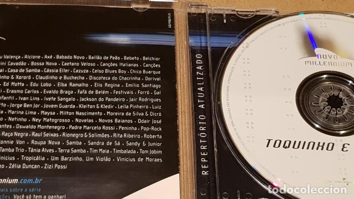 CDs de Música: TOQUINHO E VINICIUS / 20 MÚSICAS PARA UNA NOVA ERA / CD-NOVO MILLENIUM / LUJO. - Foto 2 - 165226298