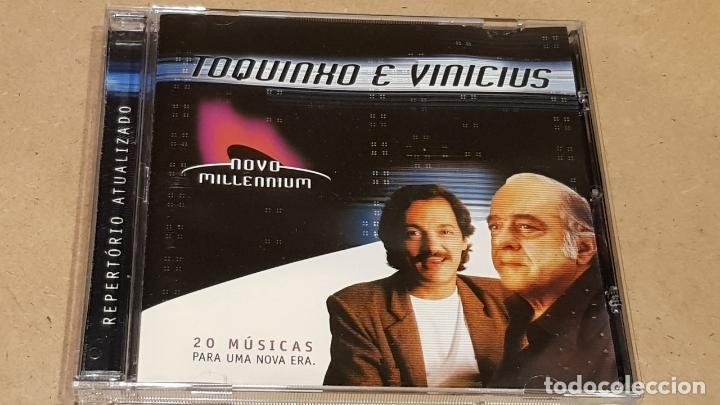 TOQUINHO E VINICIUS / 20 MÚSICAS PARA UNA NOVA ERA / CD-NOVO MILLENIUM / LUJO. (Música - CD's Latina)