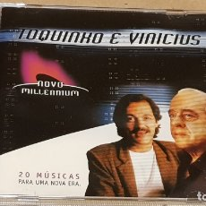 CDs de Música: TOQUINHO E VINICIUS / 20 MÚSICAS PARA UNA NOVA ERA / CD-NOVO MILLENIUM / LUJO.. Lote 165226298