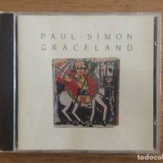 CDs de Música: CD - PAUL SIMON - GRACELAND - WARNER 1986. Lote 165249866