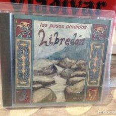 CDs de Música: LIBREDON - LOS PASOS PERDIDOS / RARO CD ALBUM (FOLK CELTA MADRID)1994 SPAIN. NM - NM. Lote 165256282