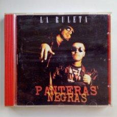 CDs de Música: PANTERAS NEGRAS - LA RULETA, ALERCE/OIHUKA, 1998. EUSKAL HERRIA.. Lote 165291750