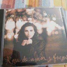 CDs de Música: ANA BELÉN / CD / ROSA DE AMOR Y FUEGO. Lote 165315381