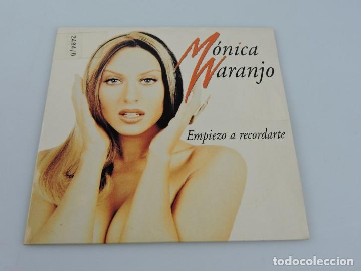 MONICA NARANJO - EMPIEZO A RECORDARTE SINGLE PROMO CD (Música - CD's Pop)