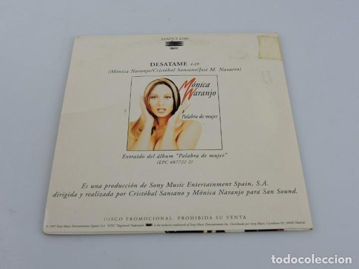 CDs de Música: MONICA NARANJO -DESATAME SINGLE PROMO CD - Foto 2 - 165336042