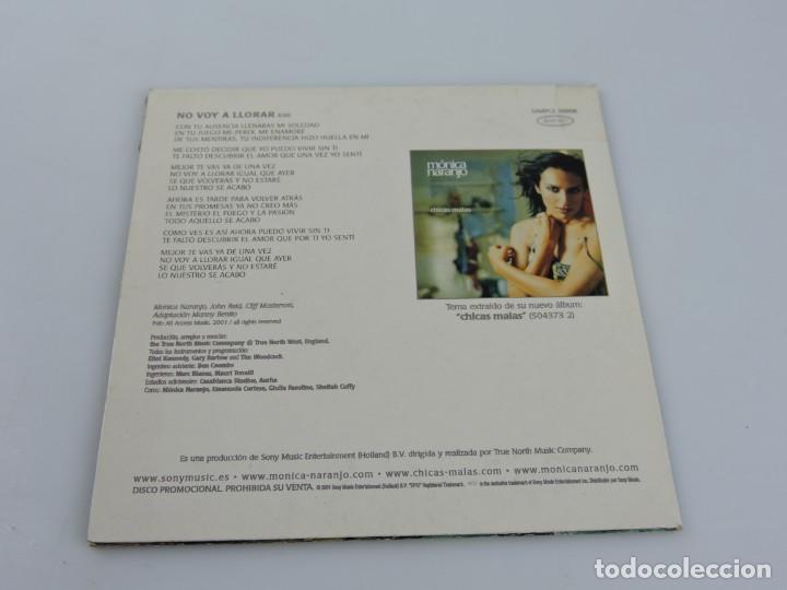 CDs de Música: MONICA NARANJO NO VOY A LLORAR SINGLE PROMO CD - Foto 2 - 165336878