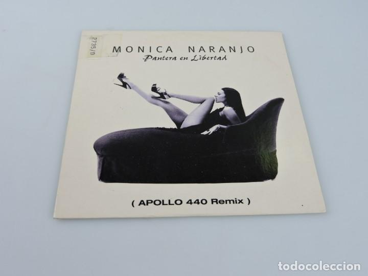 MONICA NARANJO PANTERA EN LIBERTAD APOLLO 440 REMIX MAXI SINGLE PROMO CD (Música - CD's Pop)