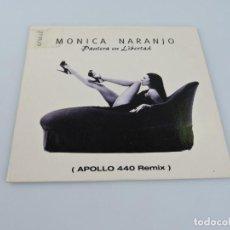 CDs de Música: MONICA NARANJO PANTERA EN LIBERTAD APOLLO 440 REMIX MAXI SINGLE PROMO CD. Lote 184883208