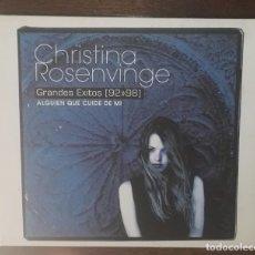 CDs de Música: CHRISTINA ROSENVINGE - GRANDES EXITOS 92 98 ALGUIEN QUE CUIDE DE MÍ. Lote 165354986