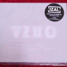 CDs de Música: IZAL (VIVO) 2 CD'S EN DIRECTO + DVD DOCUMENTAL * PRECINTADO. Lote 165368502