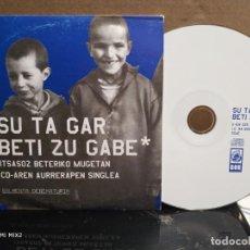 CDs de Música: SU TA GAR/ BETI ZU GABE / PROMO. Lote 165380618