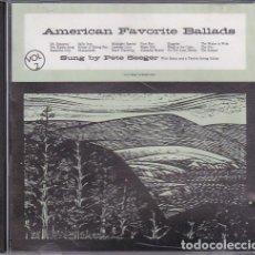 CDs de Música: PETE SEEGER - AMERICAN FAVORITE BALLADS, VOL 2. Lote 165397526
