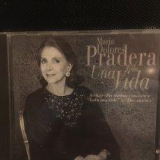 CDs de Música: MARIA DOLORES PRADERA-TODA UNA VIDA. Lote 165408404
