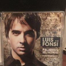 CDs de Música: LUIS FONSI-PALABRAS DEL SILENCIO-DELUXE EDITION CD+DVD. Lote 165409213